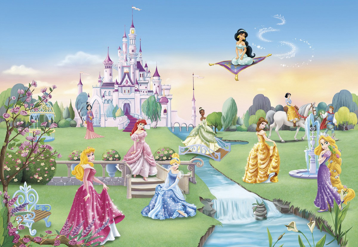 おしゃれな輸入壁紙 クロス 紙 ドイツ製 8 414 Princess Castle