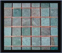 鉄平石モザイク