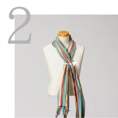 ネクタイ巻き2
