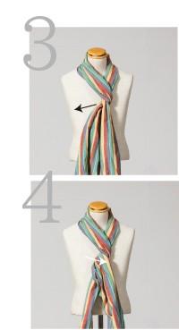 ネクタイ巻き3,4