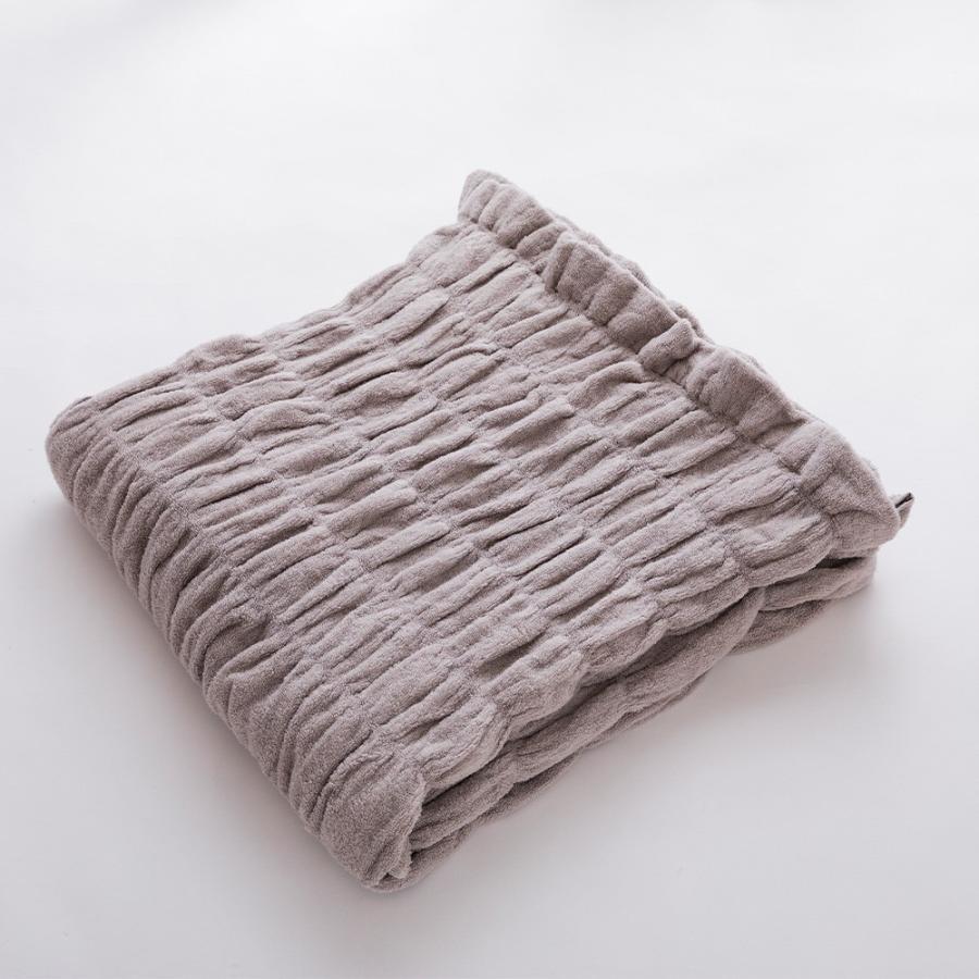 タオルケット シングル iimin 今治くるまるタオルケット おしゃれ ふんわり 綿100%|iimin|16