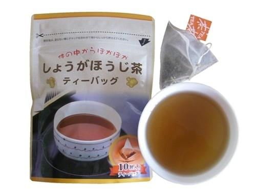 しょうがほうじ茶