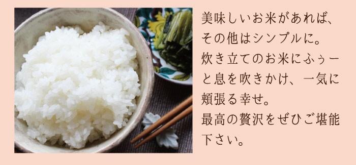 美味しいお米はシンプルに美味しい