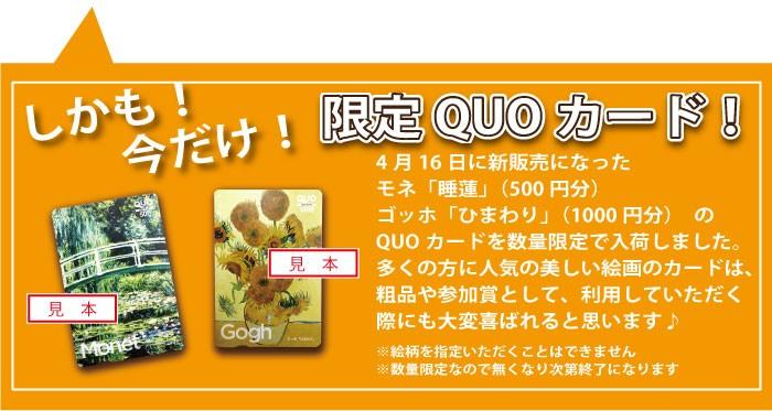 限定QUO