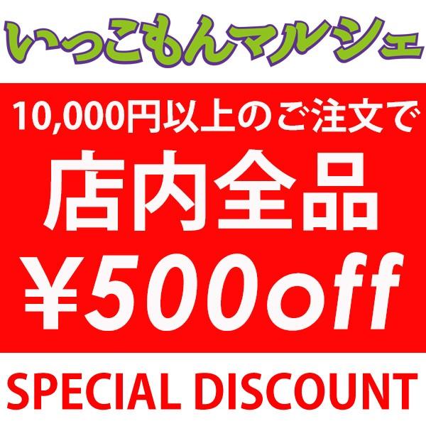 いっこもんマルシェで使える500円OFFクーポン