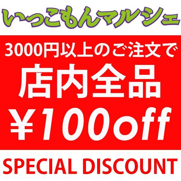 いっこもんマルシェで使える100円OFFクーポン