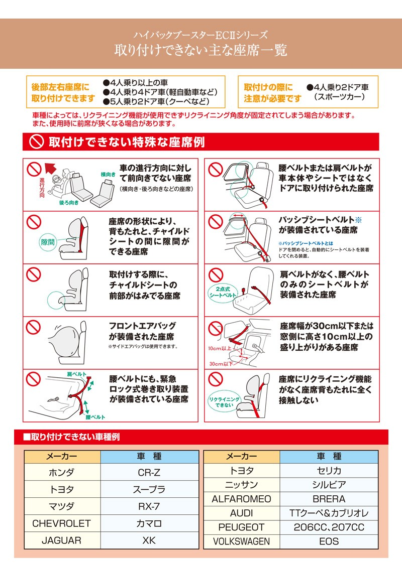 日本育児 ハイバックブースターEcII Air 6210017001