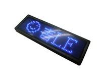 青LED led小型電光表示器 電光掲示板 デジタルサイネージ