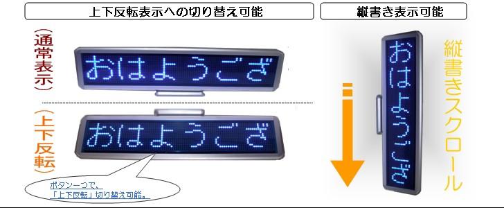 LED電光掲示板詳細 省エネLED看板