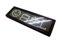 メッセージ 白LED led小型電光表示器 電光掲示板 デジタルサイネージ