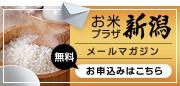 お米プラザ新潟 メールマガジン
