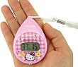 熱中症計:【ハローキティ・ロディ】温湿度計つき携帯型熱中症計