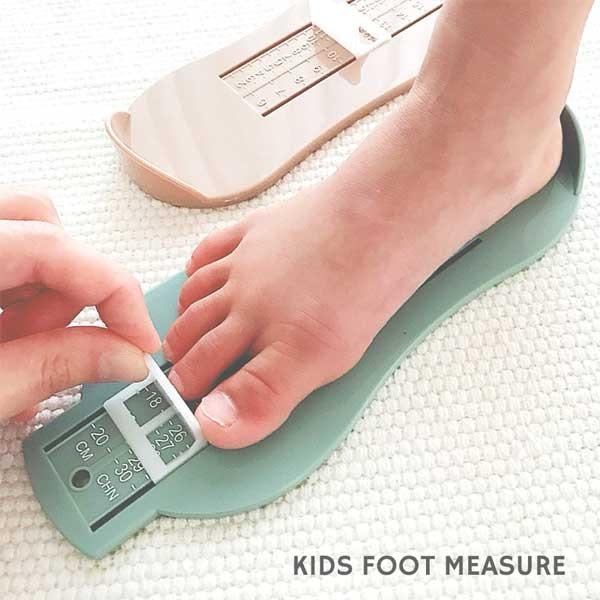 足のサイズ 測定器:キッズ用フットメジャー