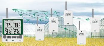 子機を増設できるワイヤレス温湿度計