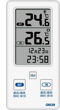 外部センサー付デジタル温度計AP-07