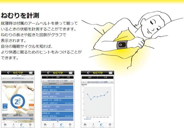眠りを計測