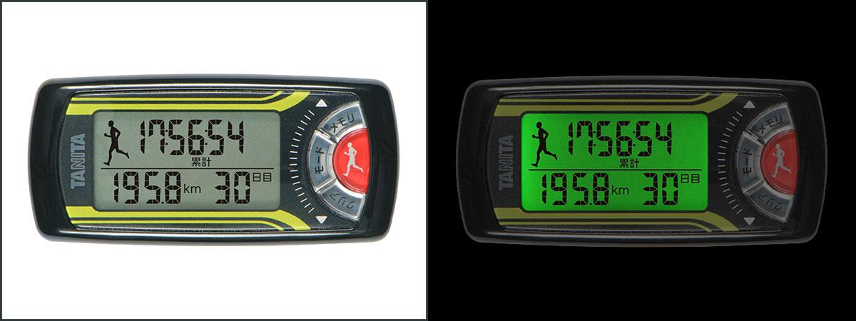 活動量計:ジョギング消費カロリー計「カロリズム」EZ-063