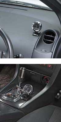 車用電波時計Fizz-837
