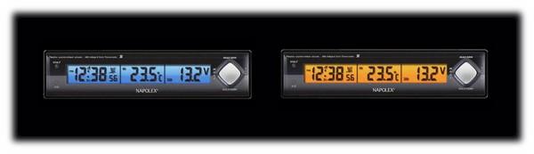 ナポレックス電圧計Fizz-890のバックライト