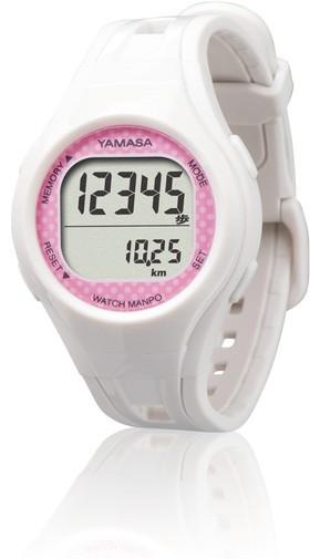 腕時計式歩数計TM-400のホワイト色