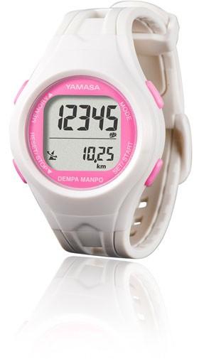腕時計式歩数計TM-450のホワイト色