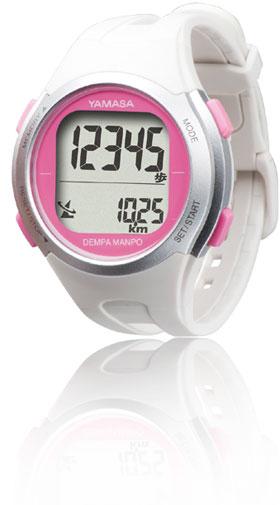腕時計式歩数計TM-500のホワイト色