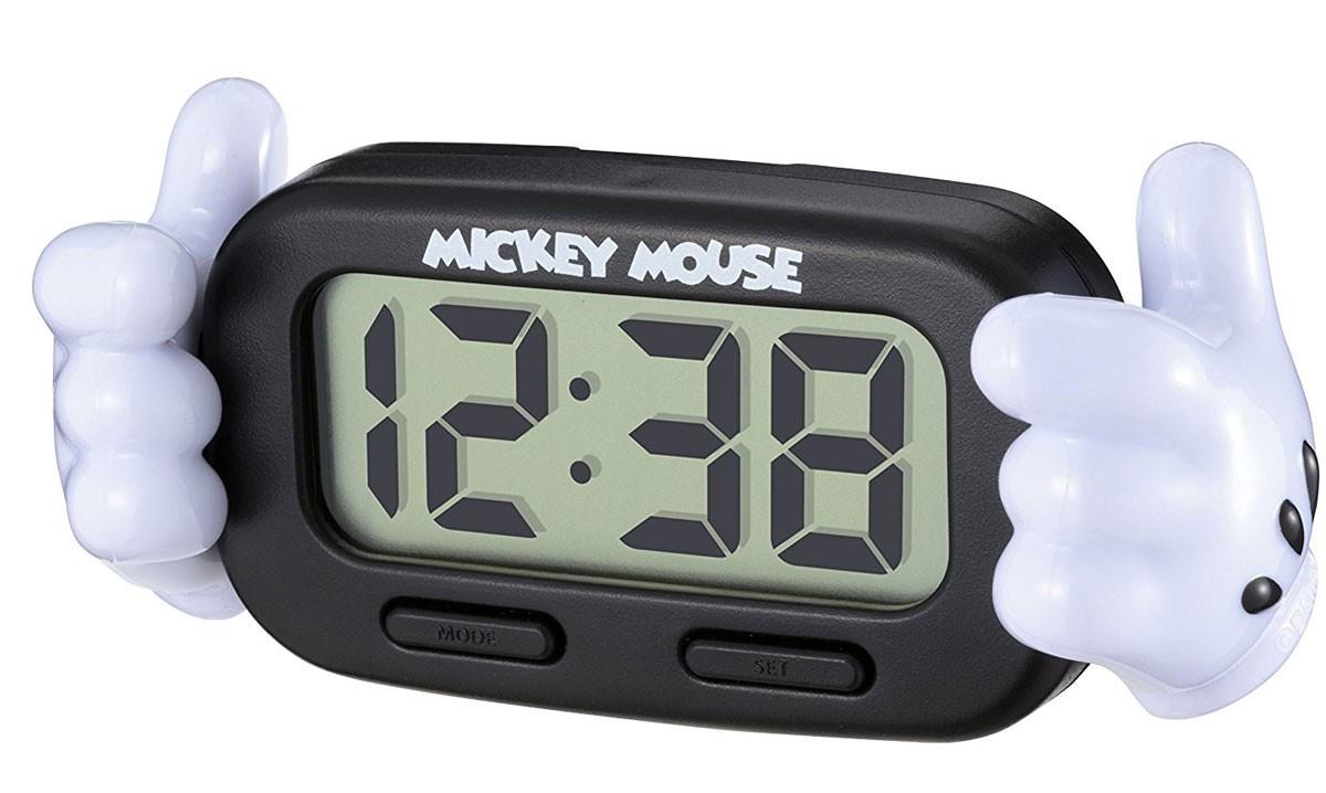 ミッキーマウスのデジタル時計