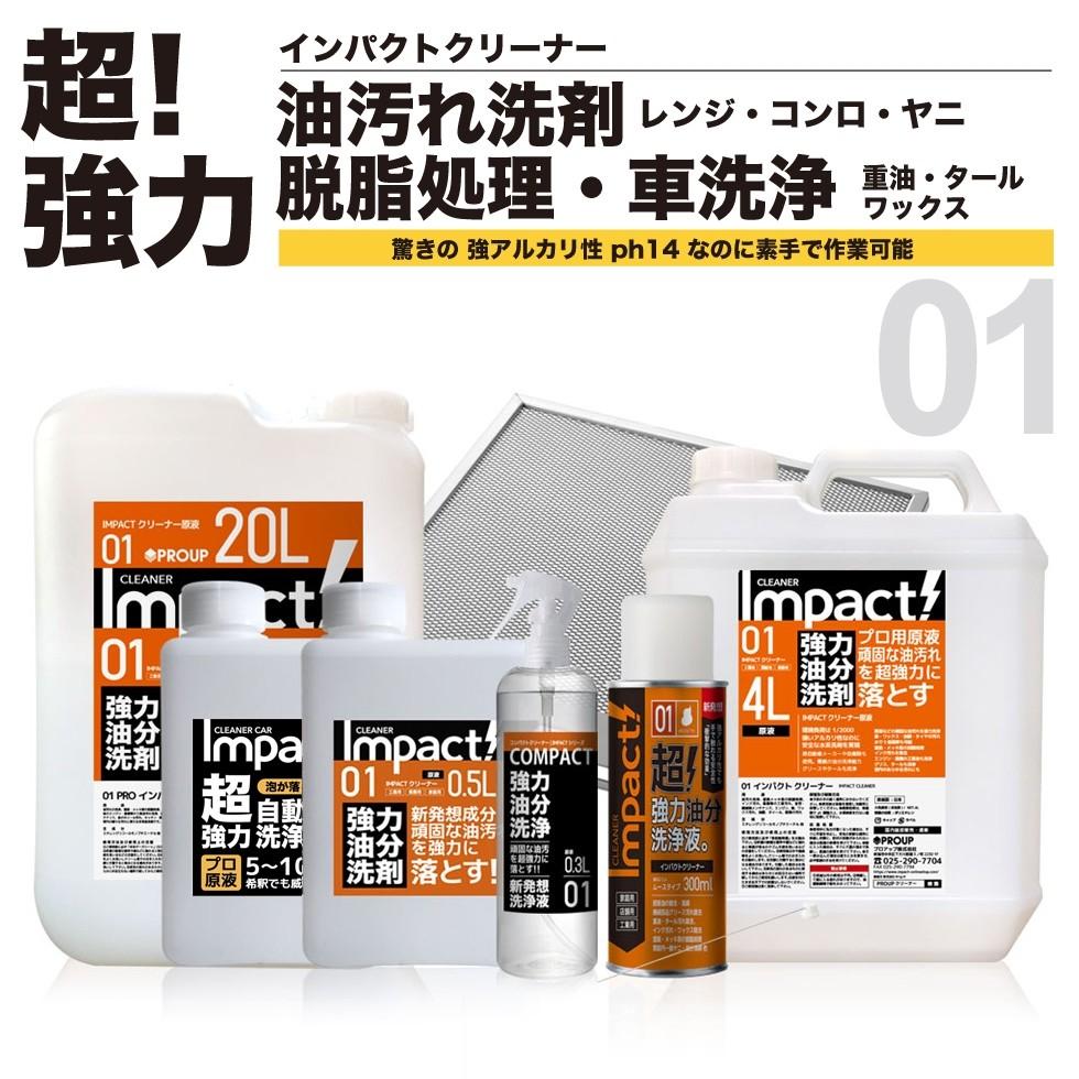 油汚れ 洗剤 多用途洗剤 PRO インパクトクリーナー