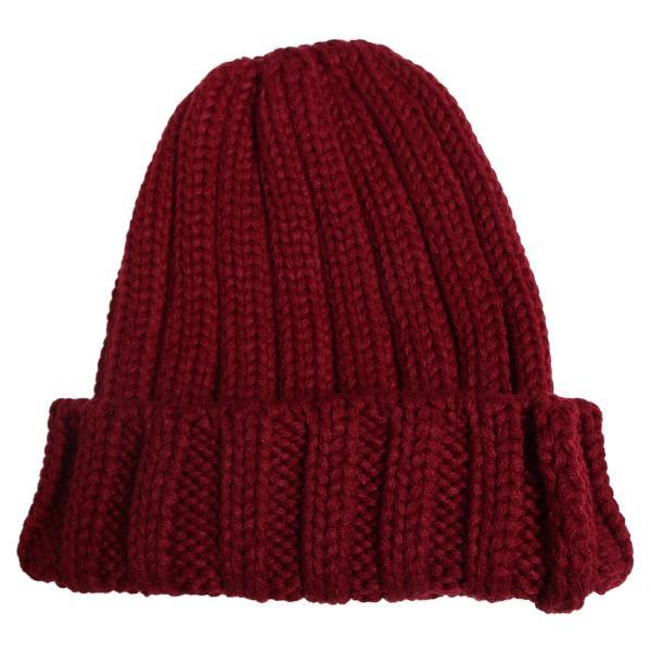 ニットキャップ 帽子 ニット帽 メンズ 無地 おしゃれ ファッション|improves|12