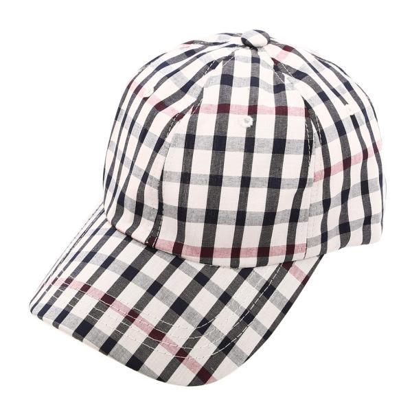 キャップ メンズ 帽子 ベースボールキャップ チェック おしゃれ ファッション|improves|13
