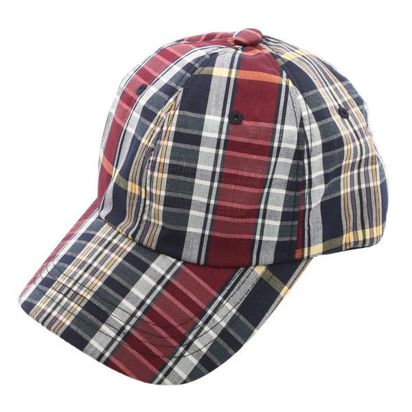 キャップ メンズ 帽子 ベースボールキャップ チェック おしゃれ ファッション|improves|14