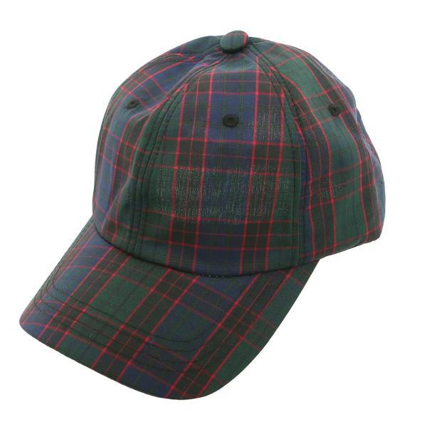 キャップ メンズ 帽子 ベースボールキャップ チェック おしゃれ ファッション|improves|15
