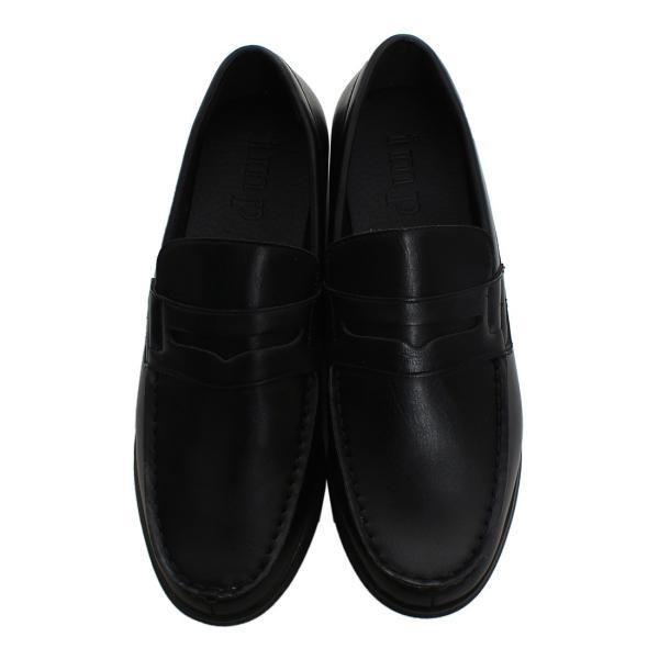 ローファー メンズ スリッポン PUレザー フェイクレザー 靴 レザーシューズ おしゃれ ファッション improves 07