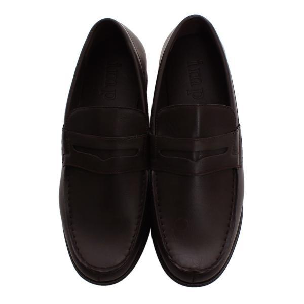 ローファー メンズ スリッポン PUレザー フェイクレザー 靴 レザーシューズ おしゃれ ファッション improves 08