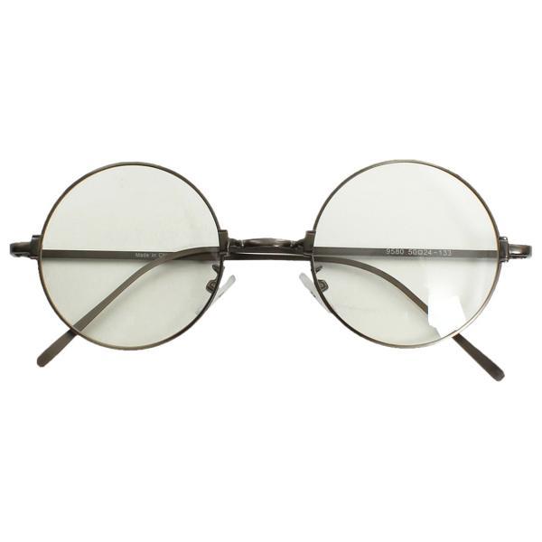 伊達メガネ 丸眼鏡 メンズ めがね ラウンド レトロ クラシック 丸型 おしゃれ ファッション|improves|07