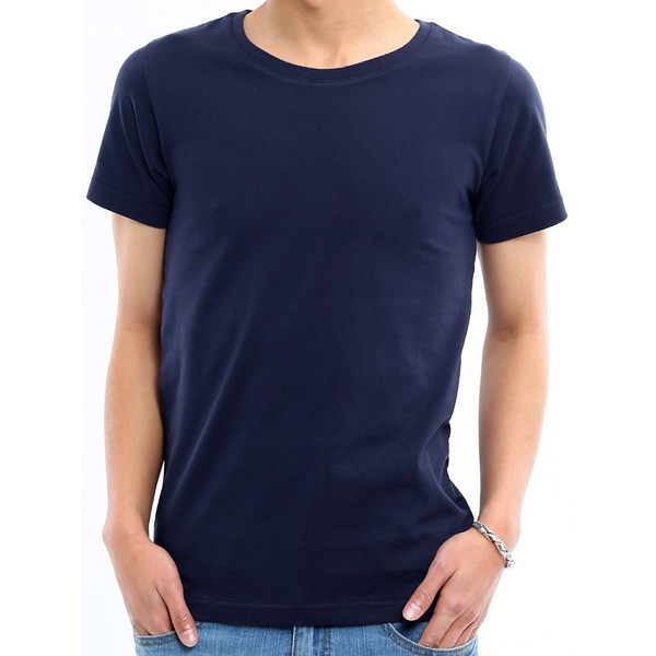 Tシャツ メンズ カットソー アメカジ Vネック Uネック クルーネック 無地 半袖 コットン|improves|29