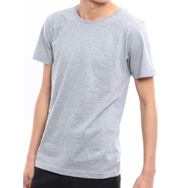 Tシャツ メンズ カットソー アメカジ Vネック Uネック クルーネック 無地 半袖 コットン|improves|30