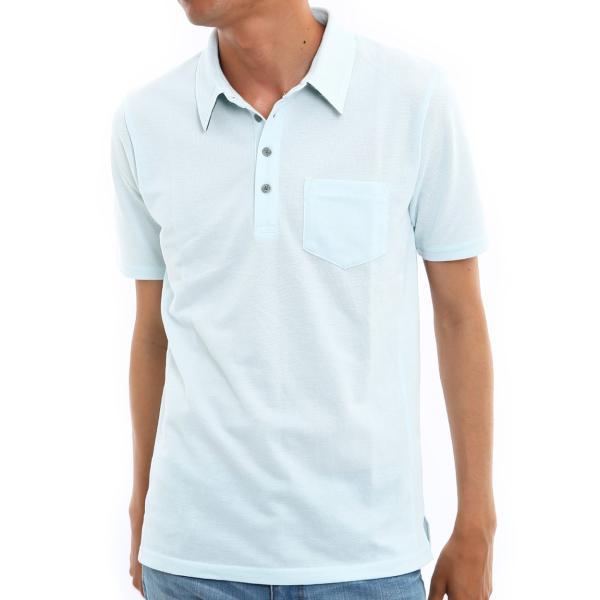 ポロシャツ メンズ ドライ 速乾 無地 半袖 ゴルフ 鹿の子 トップス 脇汗対策 メール便対応 おしゃれ 夏 夏服 ファッション|improves|20