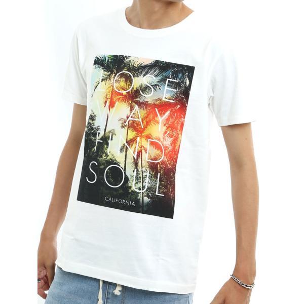 プリントTシャツ デザインTシャツ 半袖 クルーネック サーフ メンズ improves インプローブス|improves|09