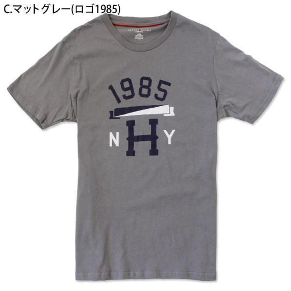 ゆうパケット送料無料 トミーヒルフィガー アウトレット Tシャツ メンズ 半袖Tシャツ ブルー グレー ロゴ 1985 ブランド TOMMYHILFIGER tsn|indexstore|13
