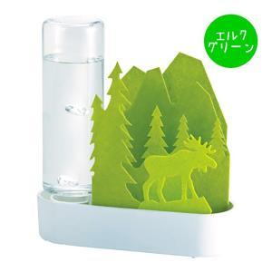 加湿器 コンパクト 日本製 電気代0円 ボトル付 無音だからうれしい お部屋のインテリアにも 寝室 リビング 子供部屋 オフィス などに 約15×5.5×高さ17cm|iniko|10