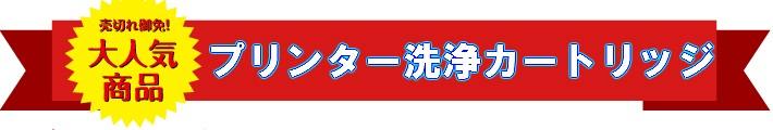 メ洗浄インクカートリッジ!!