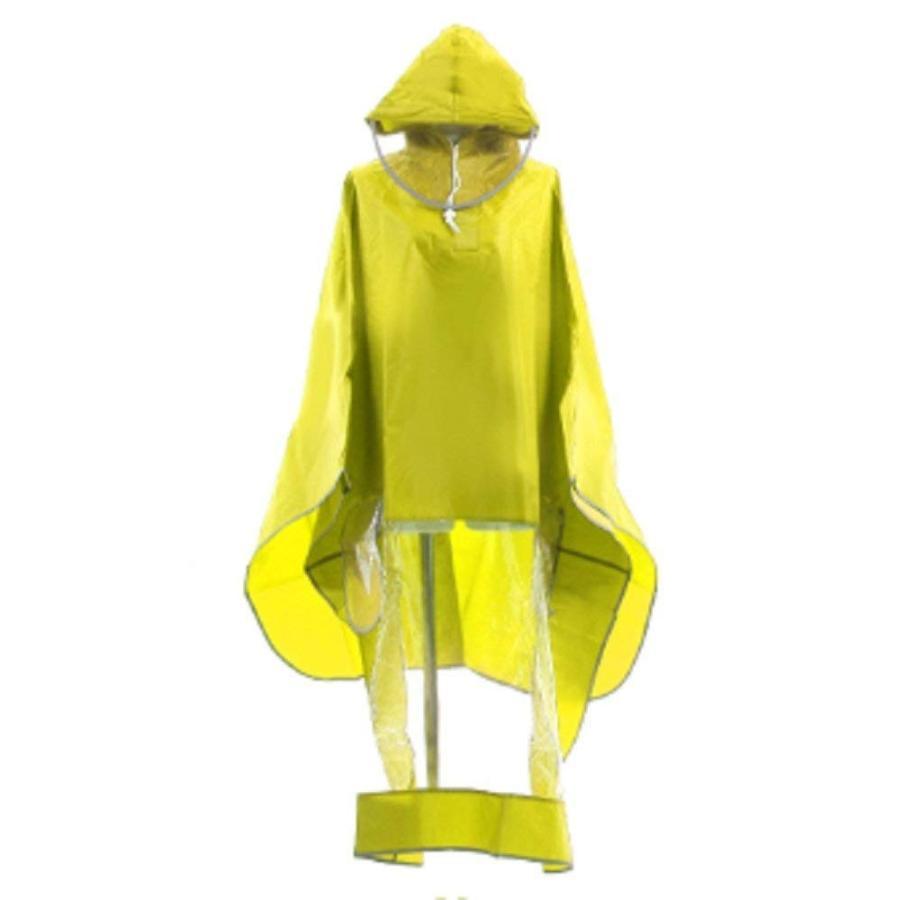 レインコート 自転車ポンチョ 自転車 カッパ 河童 帽子 ハンドル カバー 袖付き 雨 傘 雨具 雨合羽 おしゃれ 防水 レインウェア レディース メンズ innovationfactory247 19