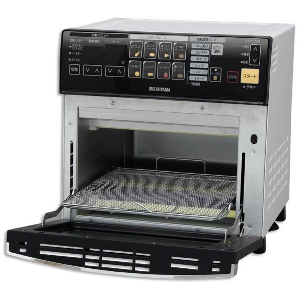 リクック熱風オーブン FVX-M3A-W ホワイト アイリスオーヤマ