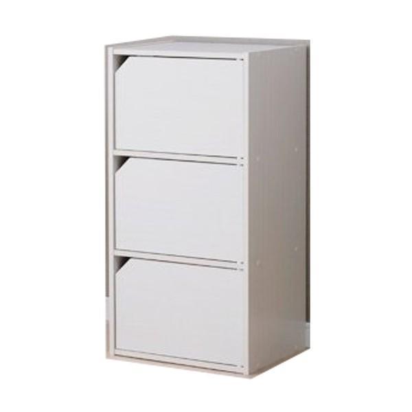 カラーボックス 扉付き おしゃれ 安い 収納ボックス 収納 目隠し モジュールボックス 扉付 MDB-3D アイリスオーヤマ|inskagu-y|10