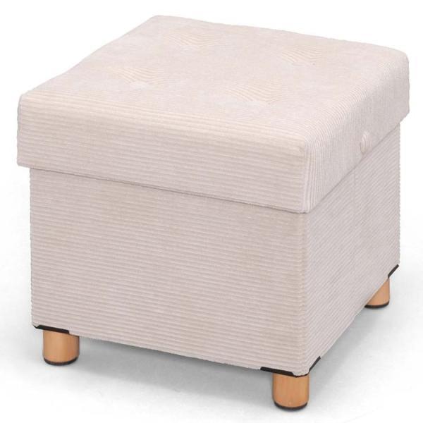 椅子 収納 収納スツール 脚付き 収納付き 便利 オットマン イス 収納ボックス ASST-38 アイリスオーヤマ|inskagu-y|16