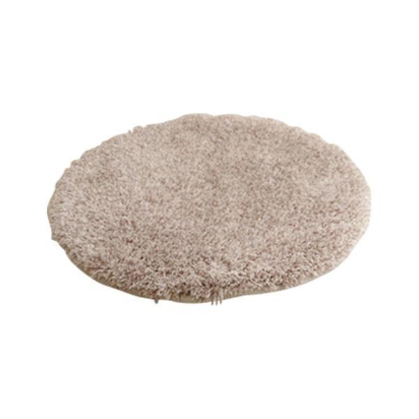 チェアパッド 洗える シャギー 円形 『スレッド』 約35cm丸 イケヒコ・コーポレーション (代引不可)(TD)|inskagu-y|03