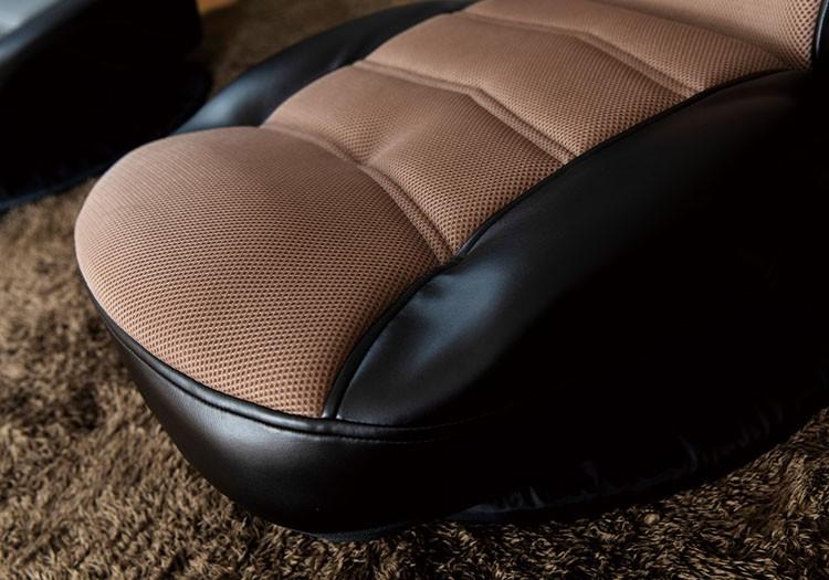 座椅子椅子イスチェアリクライニング回転コンパクト梱包家具インテリア回転式レーシングチェアー/アーケード【ARCADE】クリアグローブ