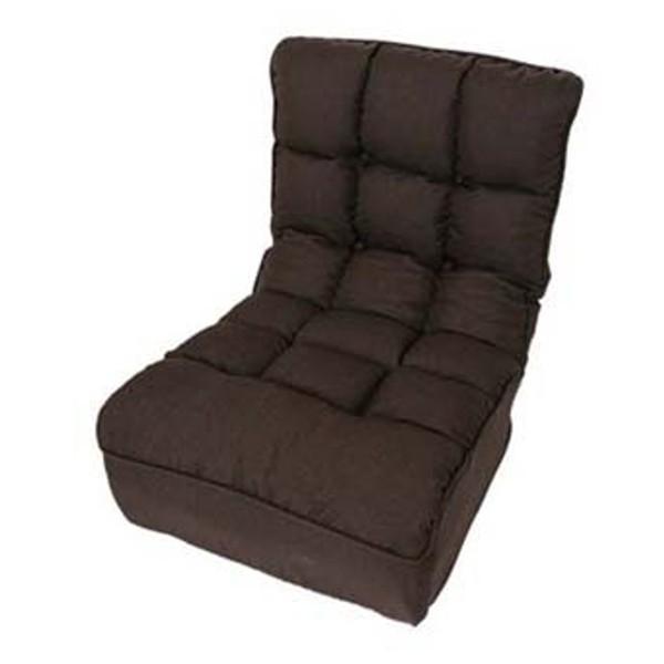座椅子 おしゃれ ソファ リクライニング 合皮 レザー ファブリック 座いす 座イス ポケットコイル ボリューム 1人掛け ブレッド CG-862-FAB (D) (在庫処分)|inskagu-y|16