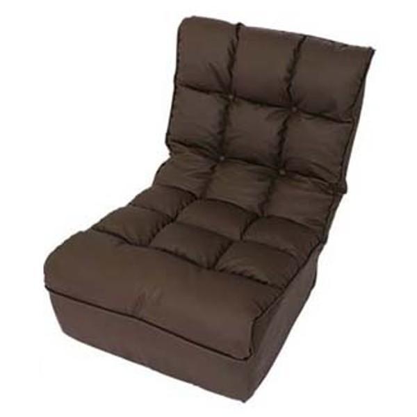 座椅子 おしゃれ ソファ リクライニング 合皮 レザー ファブリック 座いす 座イス ポケットコイル ボリューム 1人掛け ブレッド CG-862-FAB (D) (在庫処分)|inskagu-y|15